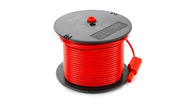 Red measuring cable, 50m