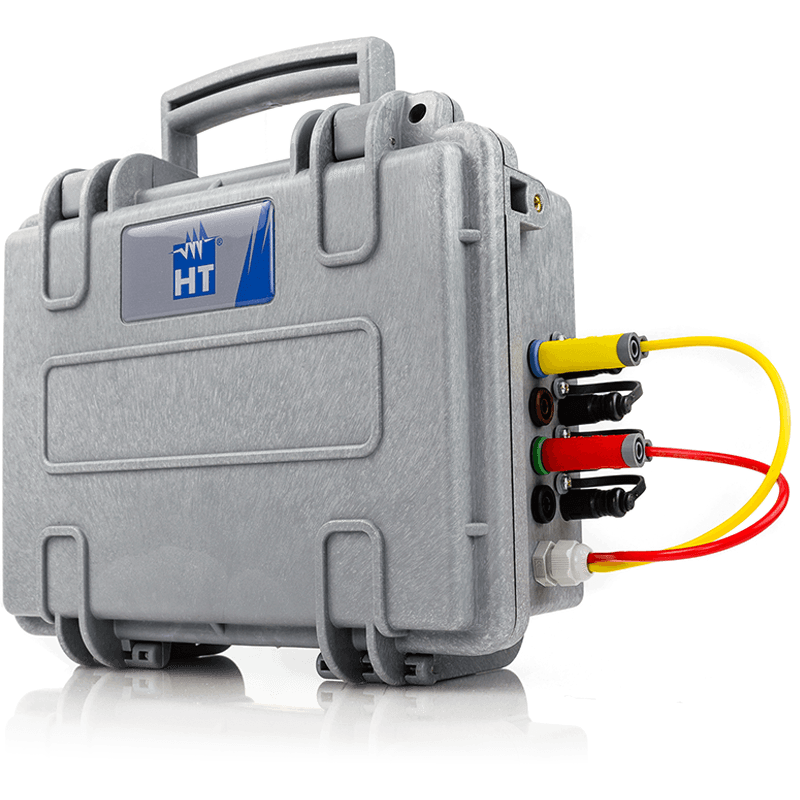 Three-phase mains analyzer with Wi-Fi, compatible with HTAnalysis™