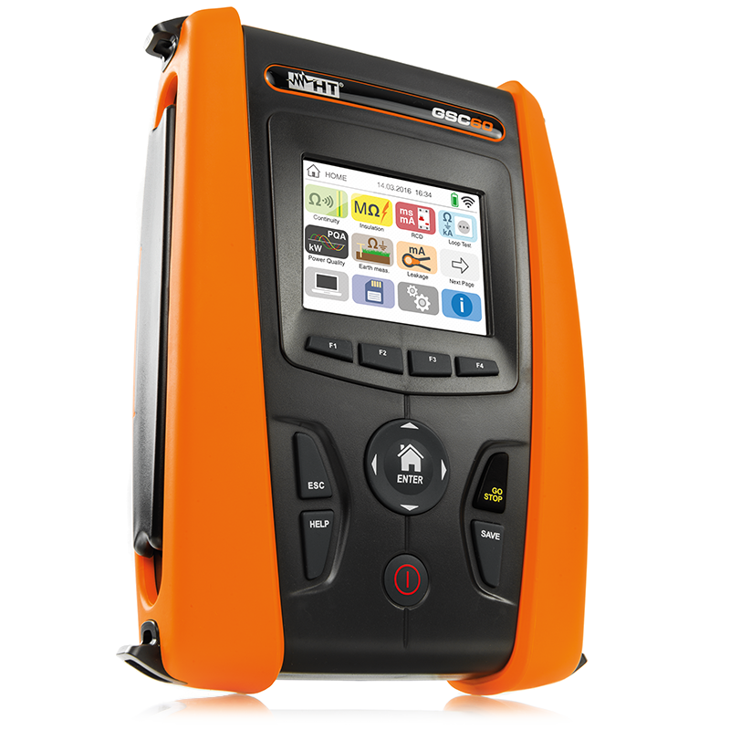 GSC60 One instrument for all electrical safety tests and Power Quality analysis