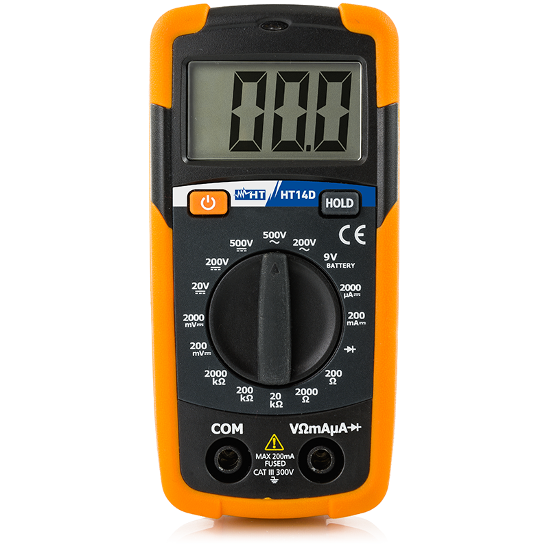 Pocket digital multimeter
