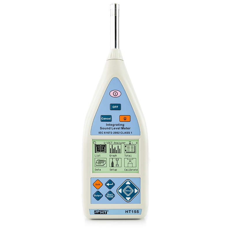 Digital integrating sound level meter Class 1