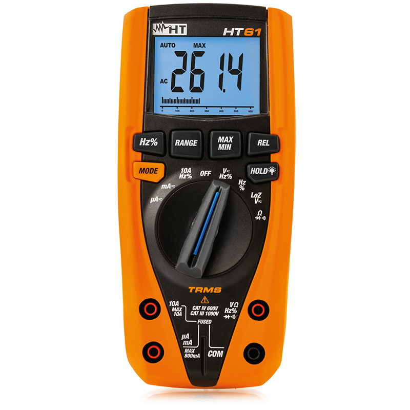 HT61, Digital Multimeters, TRMS | HT Instruments